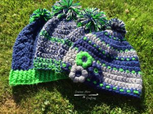 The 12th Crocheter  Seahawks Crochet Hats - Trainee Hero Creative Life 50d190947bb