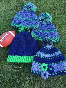The 12th Crocheter Seahawks Crochet Hats Trainee Hero Creative Life